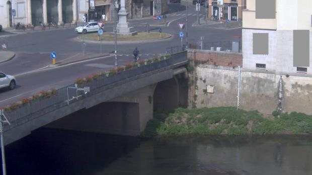 Webcam su Ponte degli Angeli, Vicenza